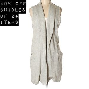 Duster Vest with Pockets